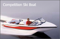 Competition Ski Boat