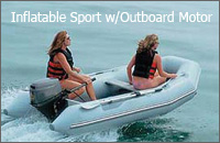 Inflatable Sport with Outboard Motor