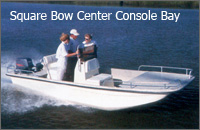 Square Bow Center Console Bay