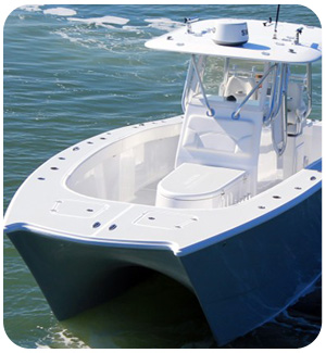 Catamaran Center Console